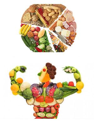 dieta billanciata con frutta, verdura, legumi e pasta