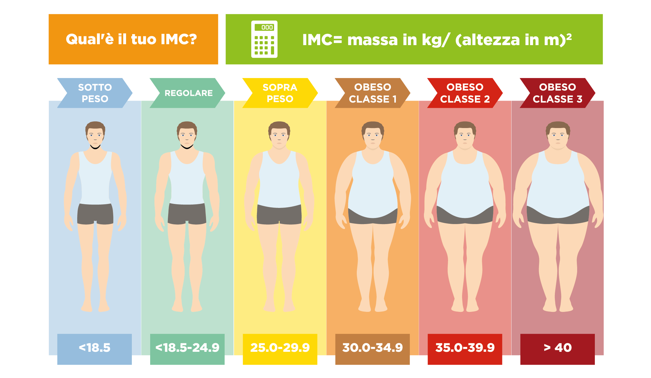 misura indice massa corporea
