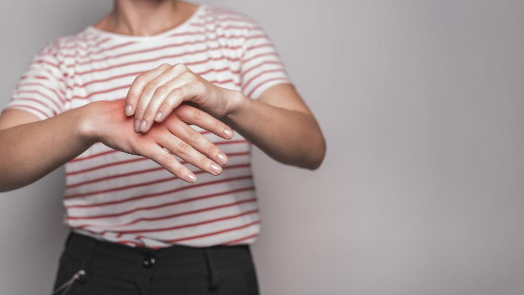 infiammazione alla mano